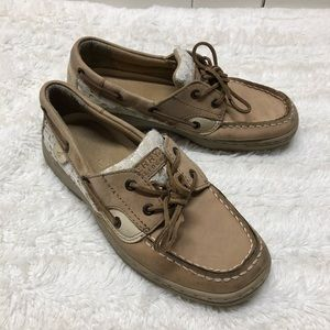 Youth Sperry size 4.5 with lace